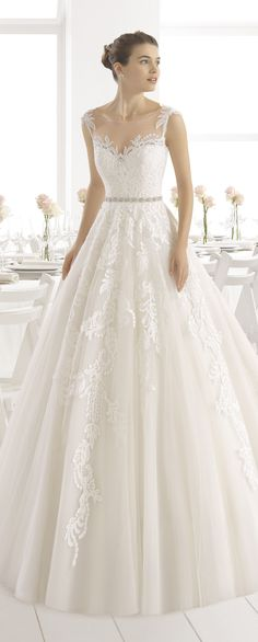 Wedding Dress by Aire Barcelona