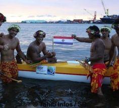 Du sable à l'océan : Shell-Vodafone Va'a 2 fait gagner...le Paraguay!