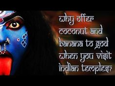 Why Offer Coconut And Banana To God When You Visit Indian Temples