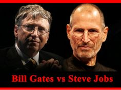 Steve Jobs & Bill Gates by SeoCustomer.com via slideshare