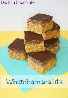 Whatchamacallits bars