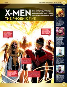 Uncanny X-Men: Rosters (If you click it'll take you to a page with most or all of these. :)
