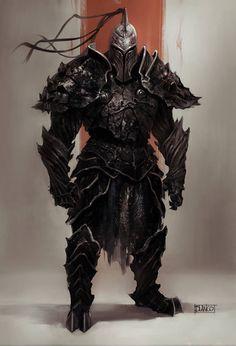 Dark Warrior by Pedro Blanco