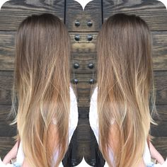 Natural balayage and baby lights hairstyles крашенные волосы Hair Lights, Light Hair, Balayage Hair, Ombre Hair, Dying My Hair, Very Short Hair, Brunette Hair, Hair Highlights, Gorgeous Hair