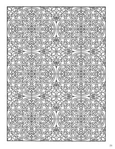 Decorative Tile Patterns Dover Decorative Tile Coloring Book  Dover Coloring  Pinterest