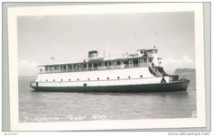 Ships - Real Photo photograph #7 Astoria Megler Ferry