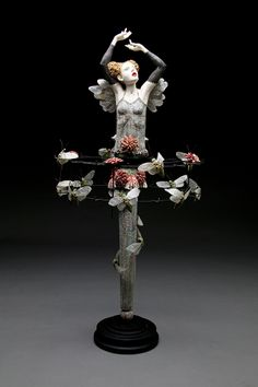 Go Figure by Kirsten Stingle: Resurrect - Clay and Mixed Media Piece Complete!