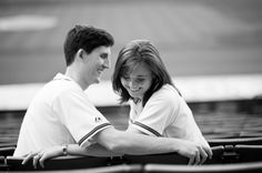 Turner Field Engagement Pictures   If only we could do this