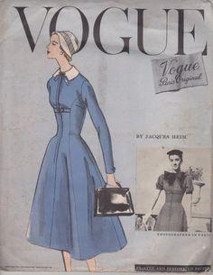 Vogue Couturier Design 1325 One Piece Dress by myvintagedelight