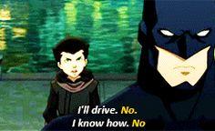 Damian Son of Batman | gif dc stuff robin Damian Wayne dcau robin V son of batman five 000