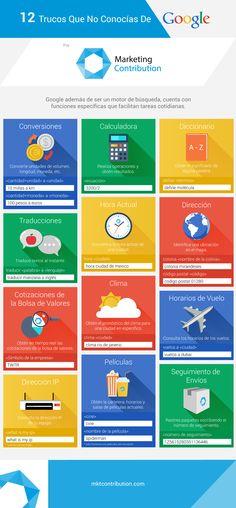 12 trucos del buscador de Google que no conocáas