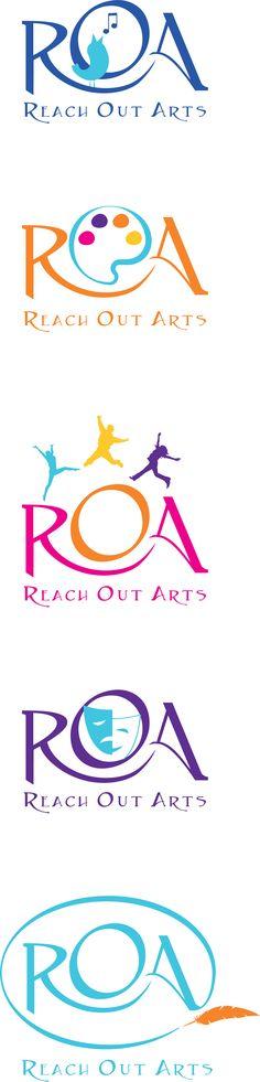 Reach Out Arts program logos