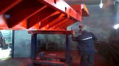 HYVST SPT 210  покраска металлической платформы