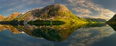 Two Faces of the Fjord... Pawel Kucharski