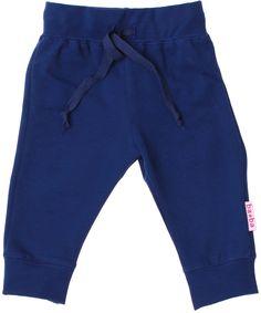 Baba Babywear cute baby pants in gorgeous blue. baba-babywear.en.emilea.be
