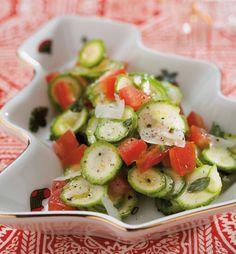 Insalata di zucchine crude ricetta