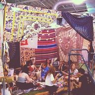 A most amazing zine-making tent at #urbanoutfitters Boise! #rookieroadtrip