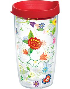 Pick from bold prints and colorful flowers to decorate Tervis tumblers made to brighten your day.