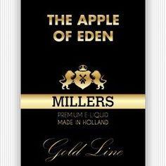 E-Liquid-Millers-Juice-The-Apple-Of-Eden -Vape Depot voor elektronische sigaretten / dampen, e-liquid