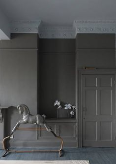 Mole's Breath Farrow and Ball The Best Paint Colors: 10 Farrow & Ball Not-Boring Neutrals Painted Interior Doors, Grey Paint, Best Interior Paint, Farrow Ball, New Paint Colors, Farrow And Ball Paint, Interior, Best Paint Colors, Shades Of Grey Paint