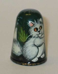 """Russian lacquered """"Cats"""""""