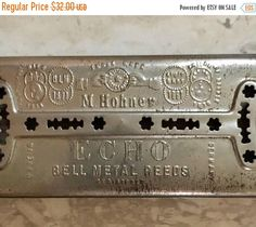 MOTHERS DAY SALE M. Hohner Echo Vintage Harmonica