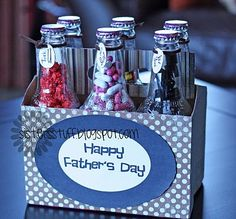 I did these for Father's Day for my Dad. I am think they would make a greater teachers gift too!!!