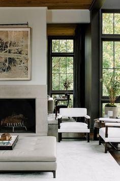 elegant neutral living room