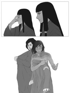 Definition of Bravery - Chapter 2 - RaeDMagdon - Avatar: Legend of Korra [Archive of Our Own], art by Korra Avatar, Team Avatar, Korra Comic, Asami Sato, Avatar Funny, Avatar World, Avatar Characters, Avatar The Last Airbender Art, Lesbian Art