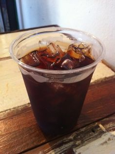 Iced toddy at Jobot Coffee in downtown Phoenix.
