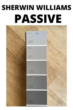 Sherwin Williams Passive is a cool-toned gray paint color. Learn all about what makes this shade of gray the perfect interior wall paint color. #gray #paintcolors #home #interiordesign Neutral Gray Paint, Best Gray Paint Color, Wall Paint Colors, Paint Colors For Home, Most Popular Paint Colors, Painting Shiplap, House Paint Interior, Grey Palette, Farmhouse Paint Colors