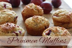 Havermout-pruimen-muffins