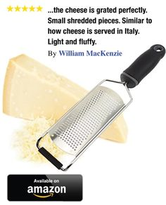 Does the job of grating and zesting ingredients quick and easy. Fast clean up.  Click image to order!