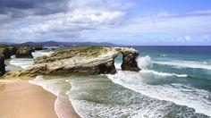 Playa de las Catedrales Galicia Lugo