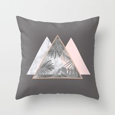 BLUSH GRAY COPPER MARBLE GEOMETRIC PATTERN Throw Pillow on @society6 BLUSH, COPPER, GRAY, PINK, MARBLE, GEOMETRIC, PATTERN, TROPICAL , HIPSTER, TRENDY, SOCIETY6, TRIANGLES, SCANDINAVIAN, PRINT, DUVET, BLACK AND WHITE, LEAVES, LEAF, SUMMER, FASHION, NATURE, INTERIOR DESIGN, HOME STYLE, DECORATION, HOME DECOR, DESIGN
