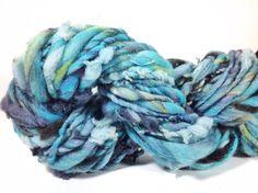 48 yards 4 oz handspun yarn next to skin soft. by FluffduJour, $24.00