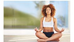 """She Made Me Go To The Back Of The Yoga Class Because My Fro Was """"Distracting""""  Read the article here - http://www.blackhairinformation.com/general-articles/opinion/made-go-back-yoga-class-fro-distracting/"""