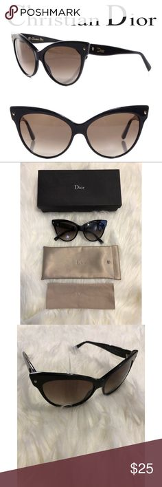 """73edf3c2fa18 """"Les Marquises"""" Mohatoni Cat Eye Sunglasses Pre-loved and in great used  condition"""