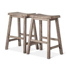 "Trenton 24"" Counter Stool Gray (Set of 2) - Threshold™ : Target"