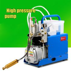 274.48$  Buy here - http://alij7s.worldwells.pw/go.php?t=32778847627 - High pressure 30 MPA pump water cooling Air Electric Inflator mini CFP On Air Compressor 220 V with alarm and filter 1.8KW 274.48$