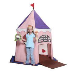 Bazoongi Fairy Princess Castle Play Tent Kiddicare.com