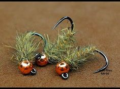 Tying a Simple & Effective Spring Quill Trout Buzzer by Mak - YouTube
