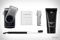 EDC: ROUTINE Braun M90 Mobile Shaver ($23).  Klhip Ultimate Nail Clippers ($75).  Goodwell Toothbrush Subscription ($10+).  M.E. Skin Lab Plasma Mask ($105).  Tom Ford After Shave Balm ($55).