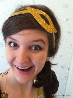 Pinstrosity: Show and Tell Saturday: Superhero Mask Headbands