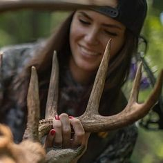 Smiling down on sweet success! via - @lexingtonlutt #deerhunting #bowhunting | Tag your photos #WhatGetsYouOutdoors to be featured. #QuikCamo #Repost @outdoorchanneltv