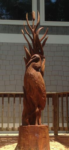 Past carvings of Chainsaw Carving Artist Corey Worden - Beneath the Bark Chainsaw Carvings