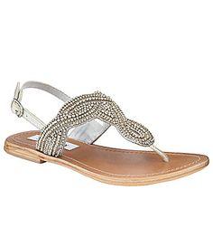 Steve Madden Shiekk Beaded Sandals | Dillards.com  cuuuuuuuute