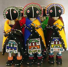 Dolls : wife Ndebele