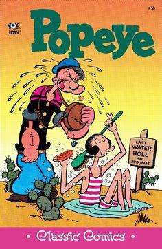 Classic Popeye n°50 (2016)  http://amzn.to/2fb9x7o #popeye #classiccomics #comics