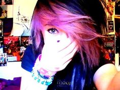 How I do my Emo/Scene hair:D Oh my gosh I love it but it would take so long to do everyday